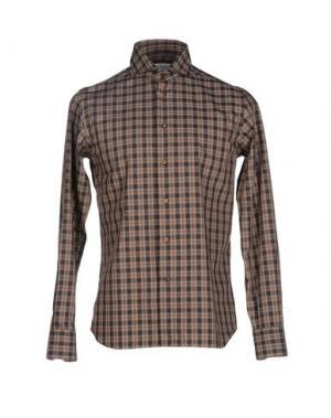 Pубашка NO BRAND. Цвет: стальной серый