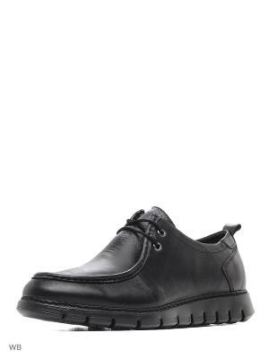 Ботинки WOODS. Цвет: черный