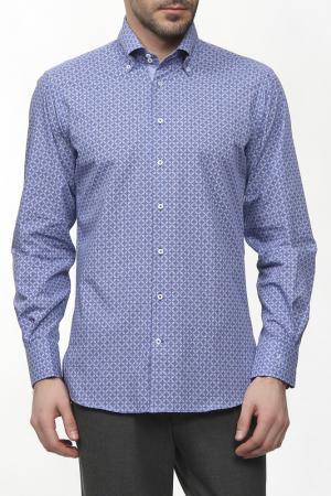 Рубашка Otto Kern. Цвет: синий