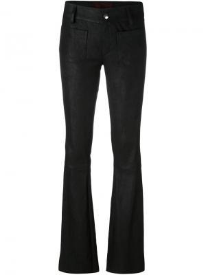 Расклешенные брюки The Seafarer. Цвет: чёрный