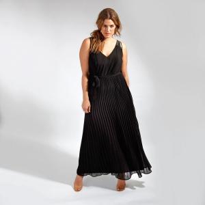 Платье длинное LOVEDROBE. Цвет: черный