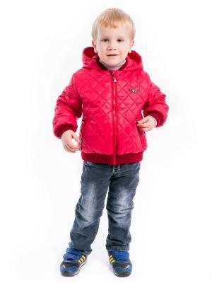 Куртка джонни Аксарт. Цвет: красный