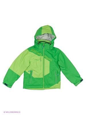 Куртка 3 в 1 High Experience. Цвет: зеленый, салатовый