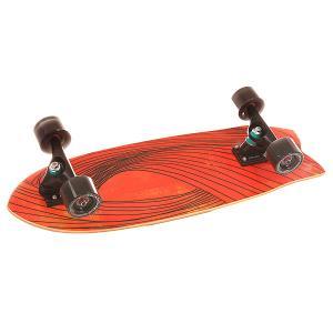 Скейт мини круизер  Cx.4 Complete Swallow/Black 9.75 x 29 (73.6 см) Carver. Цвет: красный