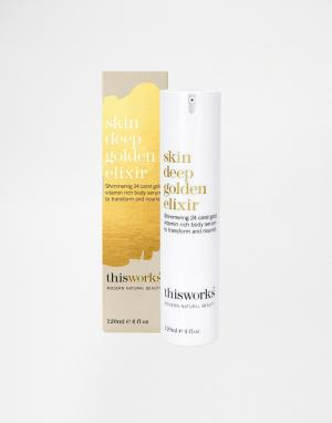 This works Средство Skin Deep Golden Elixir, 120 мл. Цвет: бесцветный