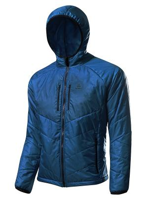 Куртка Micro Loeffler. Цвет: синий
