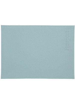 Обложка для паспорта бледно голубая Tina Bolotina. Цвет: светло-голубой