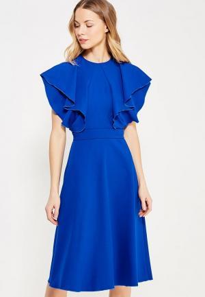 Платье Chapurin. Цвет: синий