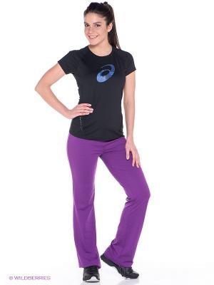 Брюки JERSEY PANT ASICS. Цвет: фиолетовый