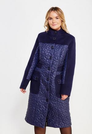 Куртка утепленная Grand Madam. Цвет: синий