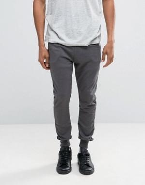 Firetrap Трикотажные штаны. Цвет: черный