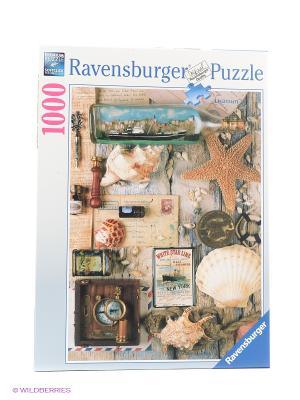 Пазл Морские сувениры  1000шт Ravensburger. Цвет: бежевый