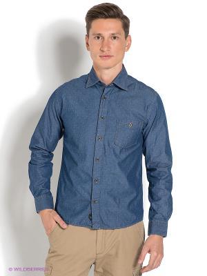Рубашка Ruck&Maul. Цвет: темно-синий