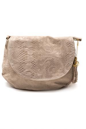 Bag CARLA FERRERI. Цвет: fango