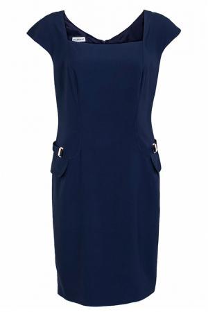Платье FHILOSOPHY DI ALBERTA FERRETTI. Цвет: синий