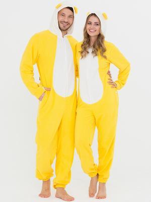 Пижама Футужама. Цвет: желтый