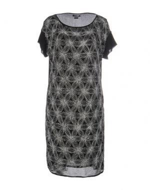 Короткое платье CRISTINAEFFE. Цвет: черный