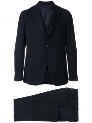 Classic formal suit Gabriele Pasini. Цвет: синий