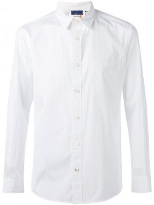 Классическая рубашка Blue Japan. Цвет: белый