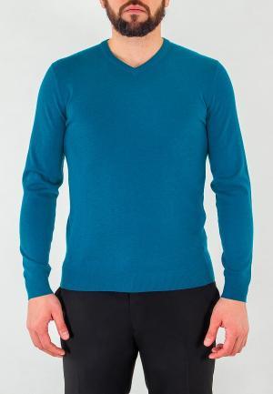 Пуловер Greg. Цвет: бирюзовый