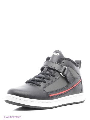 Ботинки Ascot. Цвет: черный, красный, серый
