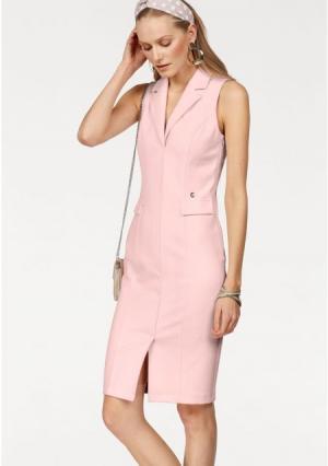 Платье BRUNO BANANI. Цвет: розовый, черный