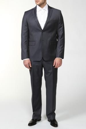 Пиджак VICTORS MART VICTOR'S. Цвет: серый в полоску, пиджак