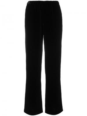 Широкие брюки Ql2. Цвет: чёрный