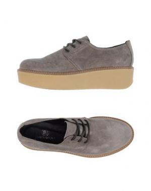 Обувь на шнурках JANET SPORT. Цвет: серый