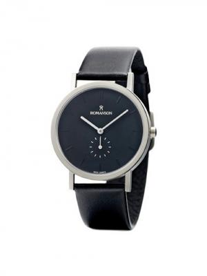 Часы DL9782NM Romanson. Цвет: черный, серебристый