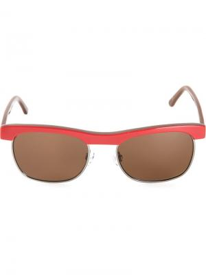 Солнцезащитные очки Chandler X Selima Optique. Цвет: красный