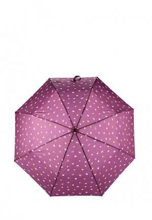 Зонт складной Mango. Цвет: фиолетовый