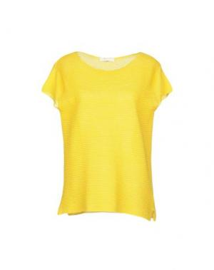 Свитер CA' VAGAN. Цвет: желтый