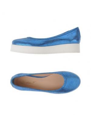 Туфли GIORDANA F.. Цвет: пастельно-синий