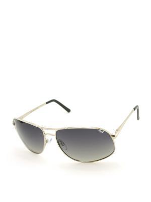 Солнцезащитные очки Legna. Цвет: темно-серый, серебристый