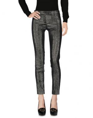 Повседневные брюки TRUE ROYAL. Цвет: свинцово-серый