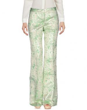 Повседневные брюки GIULIETTE BROWN. Цвет: зеленый