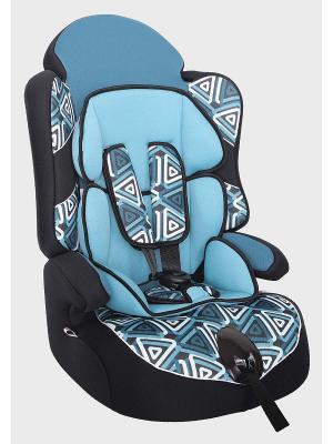 Детское автомобильное кресло ДРАЙВ коллекция ART SIGER. Цвет: голубой
