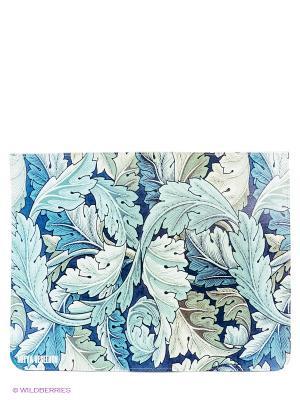 Чехол Ipad Mitya Veselkov. Цвет: синий, белый, серо-зеленый