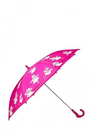 Зонт складной Flioraj. Цвет: фуксия