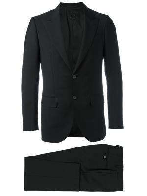Деловой костюм Caruso. Цвет: чёрный
