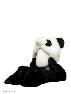 Шапка True Fur. Цвет: черный, белый