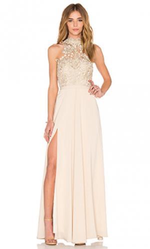 Платье cary Elle Zeitoune. Цвет: беж