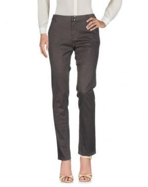 Повседневные брюки SUN 68. Цвет: темно-коричневый