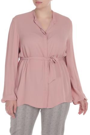 Блуза Krizia. Цвет: бледно-розовый