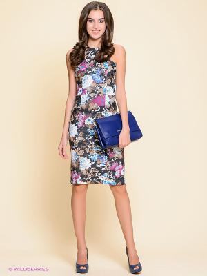 Платье Stets. Цвет: темно-серый, голубой, молочный, коричневый
