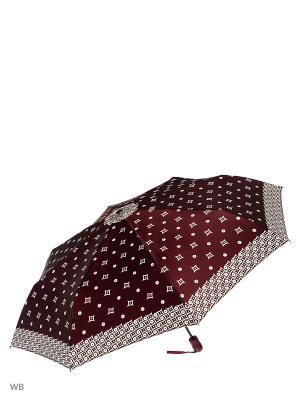 Зонт Doppler. Цвет: бордовый