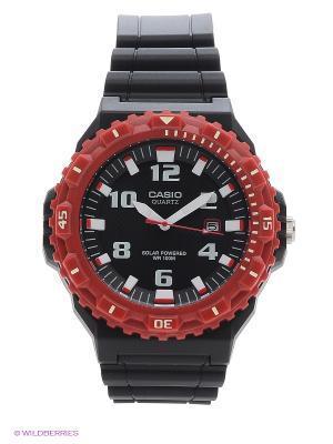 Часы Casio MRW-S300H-4B. Цвет: черный, красный