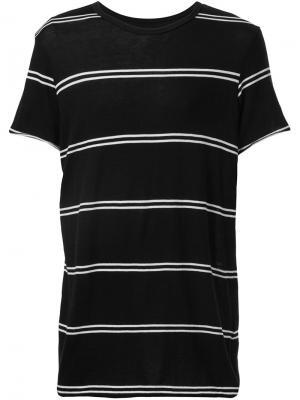 Striped T-shirt Amiri. Цвет: чёрный