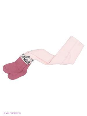 Колготки UCS. Цвет: бледно-розовый, кремовый, персиковый